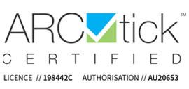arctick certificate logo