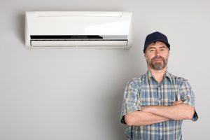 A man who does air conditioning repair in the South Coast